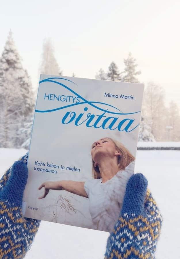 Kirja Hengitys virtaa Minna Martin
